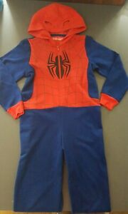 Marks and Spencer Spiderman jersey all in one onesie not gerber. Age 7-8 years
