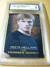 PEETA MELLARK 2012 THE HUNGER GAMES # 3 GRADED 9 L@@@K