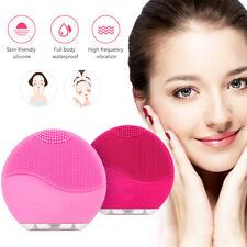 Cepillo de Limpieza Facial Eléctrico De Silicona Facial Limpiador Recargable cuidado de la piel