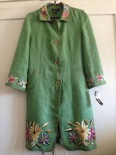 Donna Karan light linen mix jacket