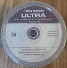50 Disc Makers Ultra White 16x Printable DVDs, DVD032-00022, 4.7 GB