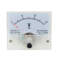 AC 30V Analog Panel Volt Voltage Meter Voltmeter Gauge 85L1 AC 0-30V