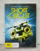 SHORT CIRCUIT - DVD - 1980s KIDS FAMILY ROBOT MOVIE - REGION 4 AUSSIE RELEASE