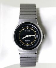 TISSOT 100M SEASTAR QUARTZ STAINLESS STEEL WOMENS WATCH VINTAGE SWISS MADE