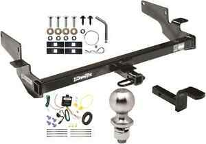 COMPLETE TRAILER HITCH PACKAGE W/ WIRING KIT FITS 2000-2005 CADILLAC DEVILLE NEW
