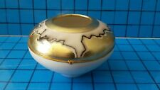 Small vessel Bowl HORSE HAIR Native American   Signed Artist GEORGE WAMCA