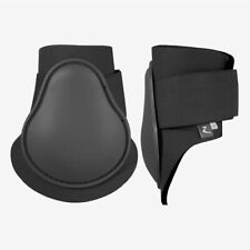 Horze Fetlock Jumping Boots with Plastic Shell and Neoprene Lining