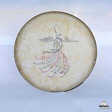 Persian Painting Daf , Deff , Def , Erbane , Bendir With Soft Case