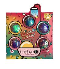 Bubble T Bomb Away Scented Bath Fizzers Bomb Fizzer Gift Set of 5