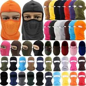 Men Women Balaclava Full Face Mask Cycling Motorcycle Bike Hat Ski Wrap Neck Cap