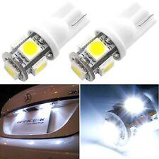 20x T10 5050 W5W 5SMD 194 168 12V LED White Car Side Wedge Tail Light Lamp Bulb