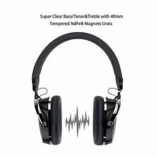 Auriculares Auriculares Sobre, boostek Con cable Auriculares con micrófono incorporado