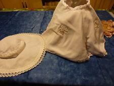 bella,raynal ,famosa ,pour grande poupée  des années 60,jupe et chapeau nylon