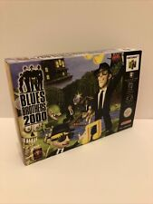 Blues Brothers 2000 N64 -  PAL Version Reproduction Game Box
