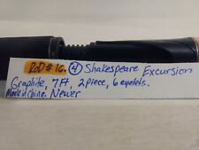 Shakespeare Excursion Graphite Six Eyelet Two Piece 7' Fishing Pole Rod  fs37
