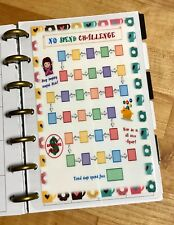 No Spend Challenge Two Sided Dashboard Insert for use with MINI Happy Planner