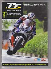 ISLE OF MAN TT 2012 DVD NEW