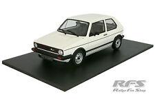 1:18 volkswagen vw golf GTI rabbit-blanc-année 1984-Otto 562