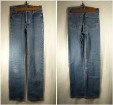 "Levis Strauss & Co. Button Fly 501xx Jeans W30 L38 Inseam 34.25"""