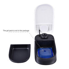 Dog Cat Automatic Pet Feeder Food Auto Dispenser Meals Timer Device Bowl Home.