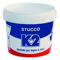 K2 0,5 kg stucco riempitivo in pasta a spatola per legno e muri bianco