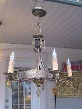 GOTHIC TUDOR CASTLE MEDIEVAL CHANDELIER LIGHT FIXTURE