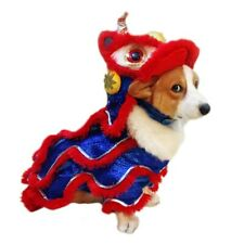 2020 New Funny Dog Clothes New Year's Pet Chinese Costume Dragon Dog Party Dress