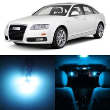 20 x ICE BLUE Interior LED Lights Package For 2005 - 2011 Audi A6 S6 +TOOL