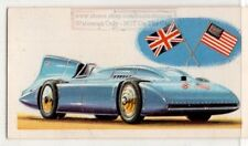 1935  Campbell Special 'Bluebird'  Automobile Car Vintage Trade Ad Card