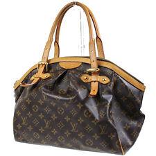 LOUIS VUITTON Tivoli GM Hand Bag Monogram Leather Brown M40144 Auth #9995 I