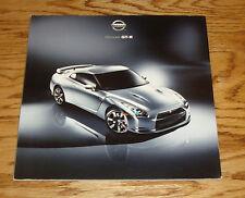 Original 2009 Nissan GT-R Sales Brochure 09