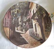 ROYAL DOULTON CLOVELLY NORTH DEVON PLATE TC 1028