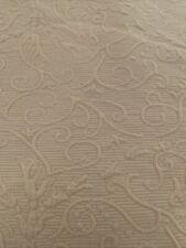 Garnet Hill Quilt Coverlet Full Avacado green Scalloped