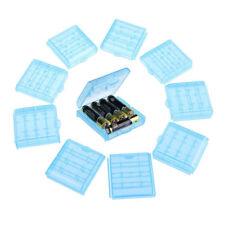[beschaeftigt 10 Stueck] Batteriehalter 14500 Batterie AA AAA kombiniert (blau)