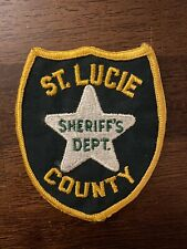 St Lucie County Sheriff's Patch - Florida - 1st Edition