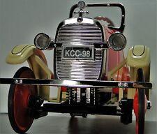 Pedal Car Ford 1920s Spring Coil Suspension Silver Grille Vintage Midget Model