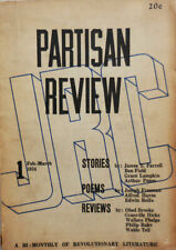 Edward Dahlberg Socialist / Partisan Review Bi-Monthly of Revolutionary 1st 1934