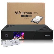 VU+ Uno 4K SE Sat DVB-S2 Dual FBC Receiver HDD 1TB Festplatte Enigma2 Ultra HD