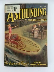 Astounding Science-Fiction US SF Pulp May 1938 Jack Williamson - Legion of Time