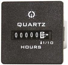 GIC contador de horas, conexión de 6 dígitos, Spade terminal, 10 â??? 80 V DC