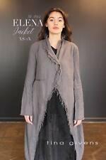 Tina Givens Elena Long Jacket sizes XS-2X Easy Sewing Pattern # TG-7162