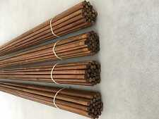 "100pcs NewTonkin Bamboo arrow shaft handmade 50-55# 33""(84cm) only shafts nock"