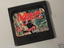 Sega Game Gear Ninja Gaiden Sega Game Gear System
