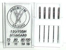 Aiguilles de machine à coudre domestique norme Point 130R/705H mix tailles