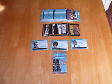Set of 100 Strictly Ink Big Screen Doctor Who 2003 trading cards + specials