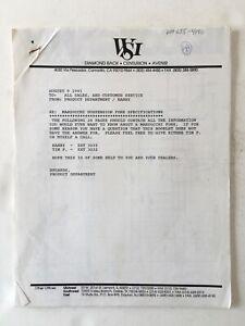 Vintage Original Diamond Back MARZOCCHI Fork Guide 1991