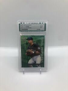 2000 Alex Rodriguez Crown Royale Final Numbers #24 AGS 9