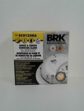SC9120BA BRK Hardwired Smoke and Carbon Monoxide Alarm Combo Lot Of 2