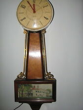Large Westclox brand -  vintage clock . Electric movement works great.