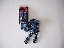 DIMARZIO STEVE VAI BLUE UNIVERSE CLIPLOCK GUITAR STRAP 2 INCH WIDE DD2240S SHORT